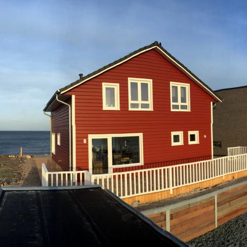 Schwedenhaus am meer  Ferienhaus Details und Fotos. Ostsee, Meerblick, Strand